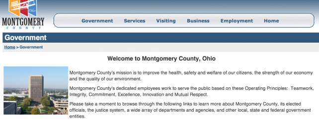 Montgomery County Ohio Recorders Office Online Access Terminated